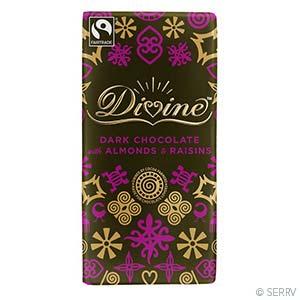 60% Dark Almond & Raisin Large Bar Case