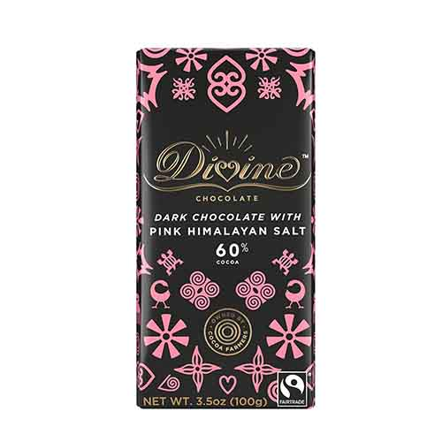 60% Dark with Pink Himalayan Salt Large Bar Case