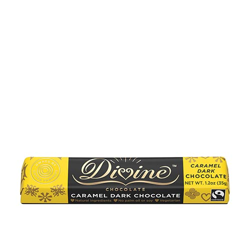 65% Dark Chocolate Caramel Small Bar Case