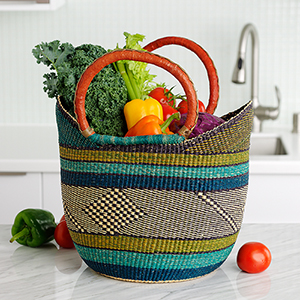 Grasslands Boat Basket
