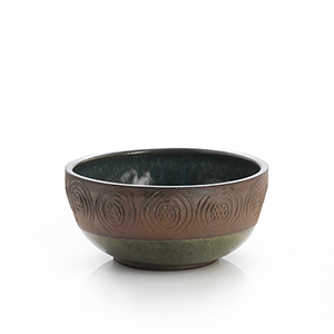 Stamped Geo Medium Bowl