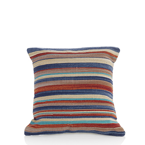 New Delhi Kilim Striped Pillow