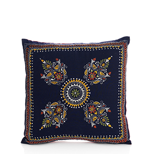 Bengali Kantha Pillow