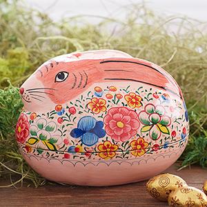 Pink Bunny Box