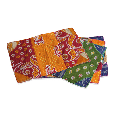 Kantha Placemats Set of 4