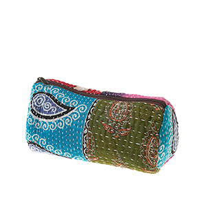 Kantha Makeup Bag