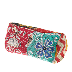 Kantha Toiletries Bag