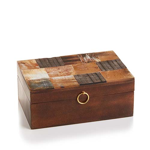 Natural Tile Keepsake Box