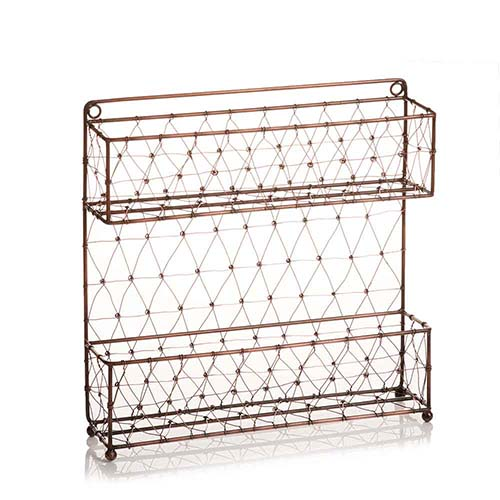 Wire Mesh Spice Rack