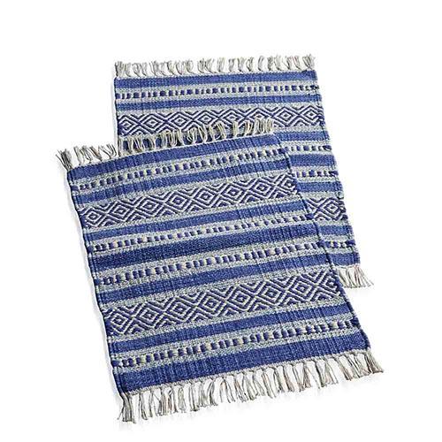 Blue Kilim Placemats