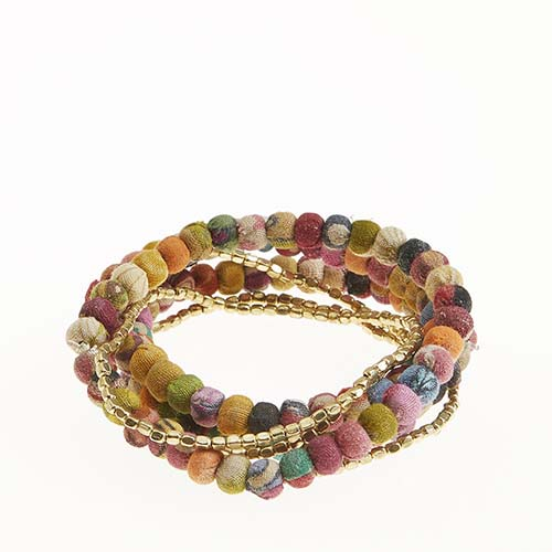 Sari Stretch Bracelet Set