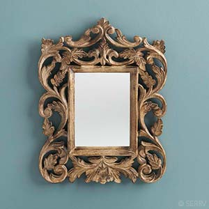 Ornate Accent Mirror