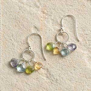 Semiprecious Stones Earrings
