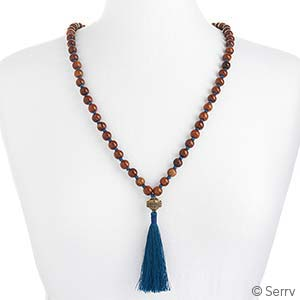 Delhi Tassel Necklace