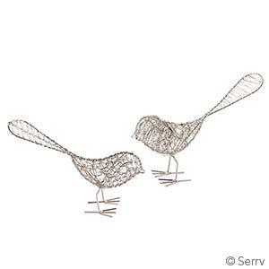 Wire Birdies Set of 2