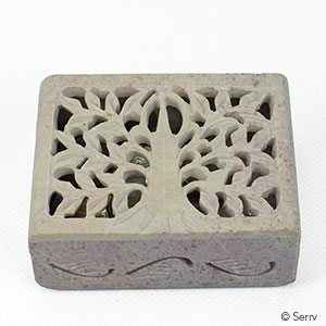 Tree of Life Stone Box