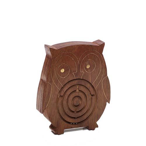 Owl Maze Game
