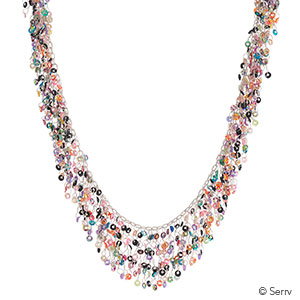 Shimmering Rainbow Necklace