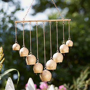 Golden Bell Wind Chime