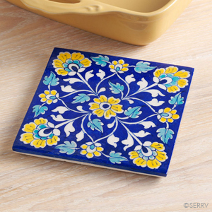 Yellow Flowers Trivet