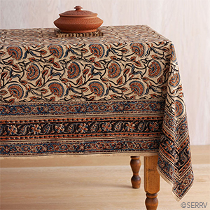Fall Floral Tablecloth
