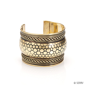 Golden Padma Cuff