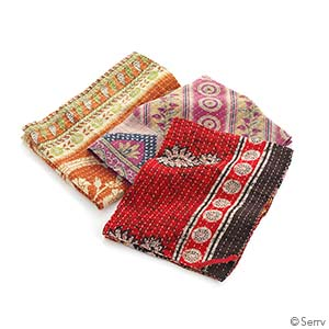 Kantha Dish Towels Set of 3