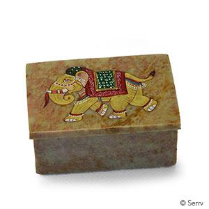 Stone Elephant Box