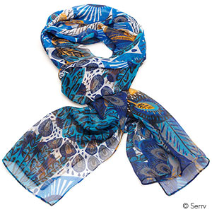 Peacock Scarf