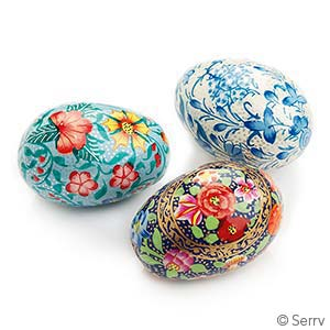 Springtime Kashmiri Eggs