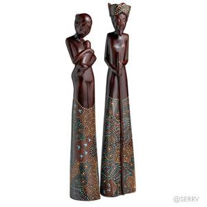 Toona Batik Figures