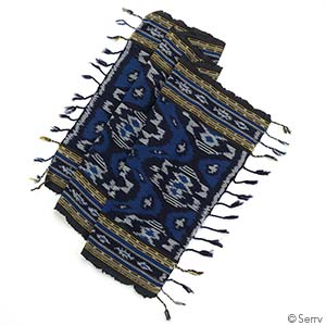Blue Jepara Table Runner