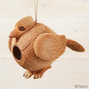Jaybird Coconut Birdhouse