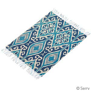 Dayak Ikat Set of 2 Placemats
