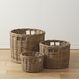 Rattan Basket Set