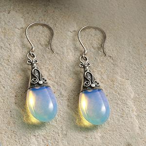 Java Moon Earrings