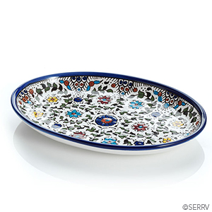 West Bank Oval Tray