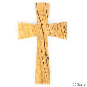 Byzantine Branch Wood Wall Cross
