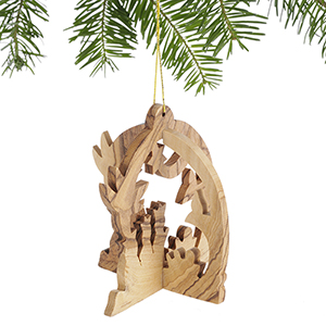 Three Kings Nativity Ornament
