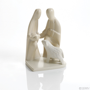 Sweet Soapstone Nativity