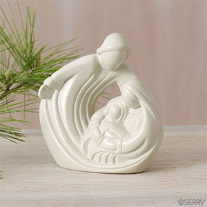 Loving Embrace Nativity