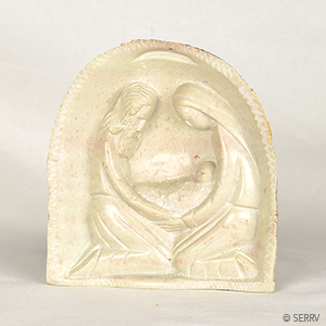 Soapstone Relief Nativity