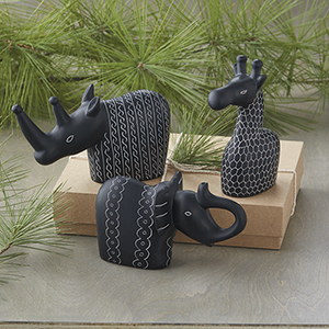 Soapstone Safari Sculptures