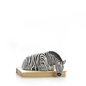 Savanna Zebra Shelf Sitter