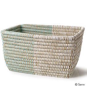 Mint & Natural Basket - Regular