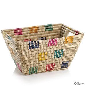 Fair Squares Rectangular Basket