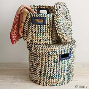 Round Riverside Baskets