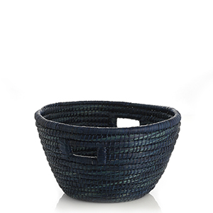 Indigo Bucket Basket