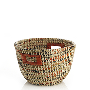 Orange Spice Bucket Basket