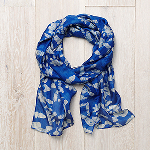 Cloud Nine Silk Scarf